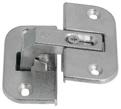 PIE CUT CORNER HINGE