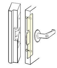 Latch Protector for Folger Adams Electric Strike