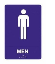 ADA Tactile Sign for Men