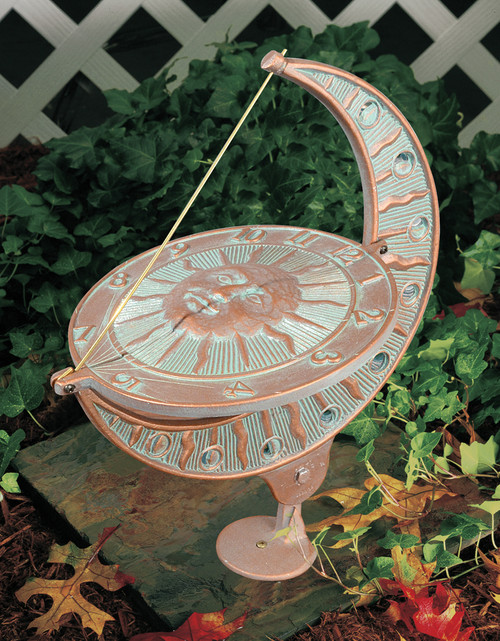 Whitehall Large Aluminum Sundials (01271)