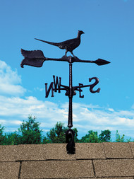 Whitehall Accent Directions Aluminum Weathervanes - Black (00078)