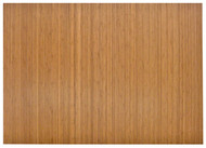 Natural - Bamboo Roll-Up 5mm Chairmat, 72 x 48, no lip
