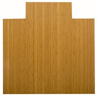 Natural - Bamboo Roll-Up 5mm Chairmat, 55 x 57, with lip