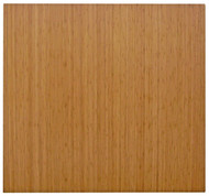 Natural - Bamboo Roll-Up 5mm Chairmat, 52 x 48, no lip