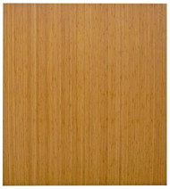 Natural - Bamboo Roll-Up 5mm Chairmat, 42 x 48, no lip