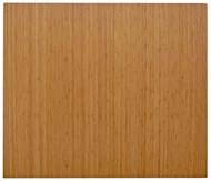 Natural - Bamboo Roll-Up 5mm Chairmat, 60 x 48, no lip