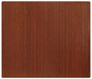 Dark Cherry - Bamboo Roll-Up 5mm Chairmat, 60 x 48, no lip