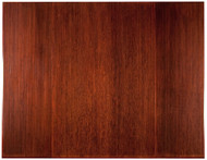 Dark Cherry - Bamboo Tri-Fold 12mm Chairmat, 47 x 60, no lip