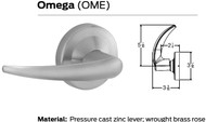 Schlage ND Series Vandlgard Grade 1 Cylindrical Locks - Omega