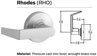 Schlage ND Series Electrically Grade 1 Cylindrical Locks - Rhodes