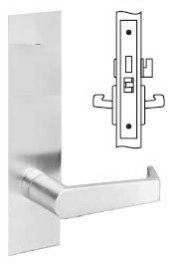 Yale Mortise Privacy Lever