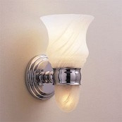 CHELSEA Light W/ Satin Etched Glass W/ Nightlight