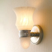 CANTERBURY Light W/ Nuage Glass W/ Nightlight