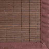 Villager Coffee Bamboo Rug