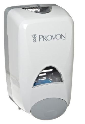provon soap dispenser how to open