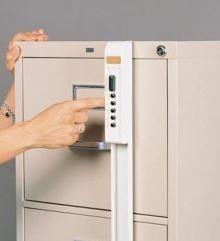 Simplex file cabinet keyless lock