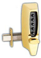 Simplex Pushbutton Dead latch Lock-7104