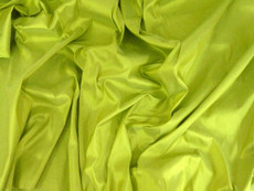 Chartreuse Green Yellow 100% Authentic Silk Fabric