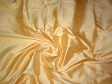 Gold Yellow 100% Authentic Silk Fabric
