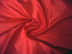 Orange Red 100% Authentic Silk Fabric