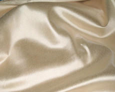 "Italy Faux Silk Fabric 58""W - Champagne"