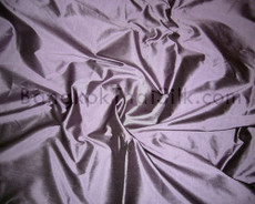 Purple Gray 100% Authentic Silk Fabric