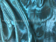 Teal Japanese Soft Faux Silk Fabric