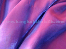 Purple Fuchsia Japanese Faux Soft Silk Fabric