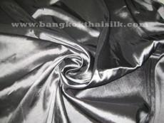 "Dark Silver Gray Faux Silk Taffeta 60""W Fabric"