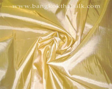 "Light Gold Taffeta 60""W Fabric"