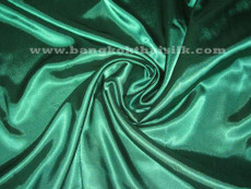 "Emerald Green Satin 60"" Fabric"