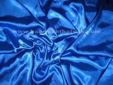 "Royal Blue Satin 60"" Fabric"