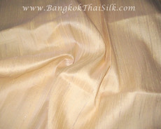 Peach 100% Silk Dupioni Fabric