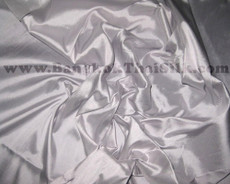 Smoke Grey 100% Authentic Silk Fabric