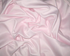 "Pale Pink Duchess Satin Hi Quality 60"" Fabric"