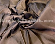 """Chestnut Brown Faux Silk Taffeta 60""""W Fabric"""