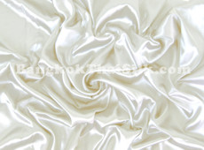 "Ivory Satin Fabric 45""W"