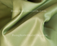"Sage Green Satin Fabric 45""W"