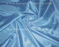 "Light Sky Blue Taffeta 60""W Fabric"
