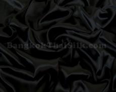 "Black Satin Fabric 60""W"