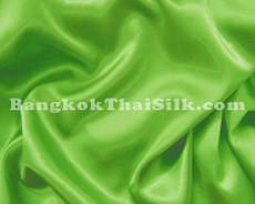 "Lime Green Satin Fabric 45""W"