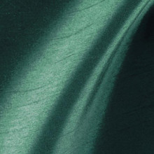 "Faux Silk Caprice Dupioni 60""W Fabric - Forest Green"