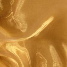 Sheer Mirror Organza - Gold