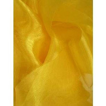 Sheer Mirror Organza - Yellow