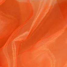 Sheer Mirror Organza - Orange
