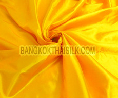 "Yellow Sunrise Faux Silk Taffeta 60""W Fabric"