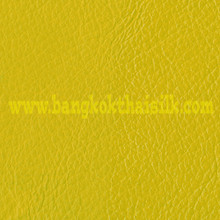 Faux Calf Leather Fabric - Yellow
