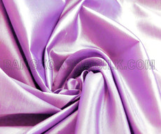 "Pale Lilac Faux Silk Taffeta 60""W Fabric"