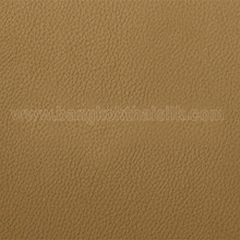 Faux Calf Leather Fabric - Saddle Brown