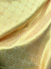 "Thai Silk Damask 40""W Fabric  - GOLD"
